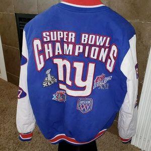 NFL NEW YORK GIANTS SUPER BOWL CHAMPION JACKET